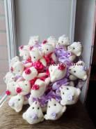 Букеты с мягкими игрушками Букеты с конфетами