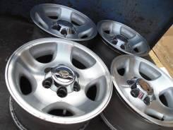 Toyota. 8.0x16, 6x139.70, ET0, ЦО 108,1мм.