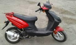 E-moto YH50QT. 50 куб. см., исправен, без птс, с пробегом