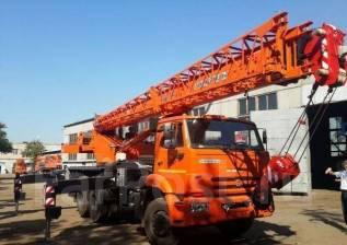 Клинцы КС-55713-1К. Автокран КС-55713-1К-1 с гуськом Камаз 65115 лизинг, 25 000 кг., 29 м. Под заказ