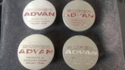 """Центральные колпачки Advan оригинальные. Диаметр 16"""", 1 шт."""