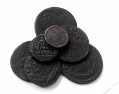 Подборка монет разных периодов 18-19 вв. - 7 шт.
