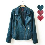 Оригинальность и стиль: Кожаная куртка Pim kie. 62, 64