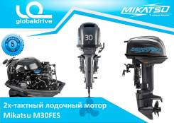 Mikatsu. 30,00л.с., 2х тактный, бензин, нога S (381 мм), Год: 2017 год