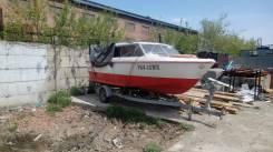 Продам катер Сигма С-55. Год: 1997 год, длина 5,60м., двигатель подвесной, 90,00л.с., бензин