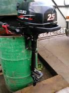 Suzuki. 2,50л.с., 4х тактный, бензин, нога S (381 мм), Год: 2012 год