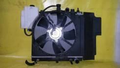 Радиатор охлаждения двигателя. Nissan Note, E11 Двигатели: CR14DE, HR15DE