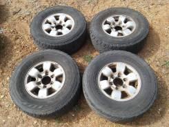 Бюджетный комплект летних колес на джип R15. 7.0x15 6x139.70 ET40