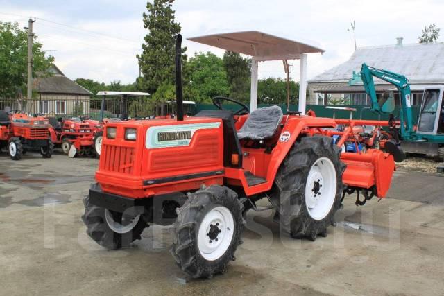 Hinomoto. Японский мини трактор N279D, 27 л.с.