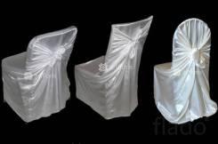 Продам универсальные чехлы для стульев ( Белые)