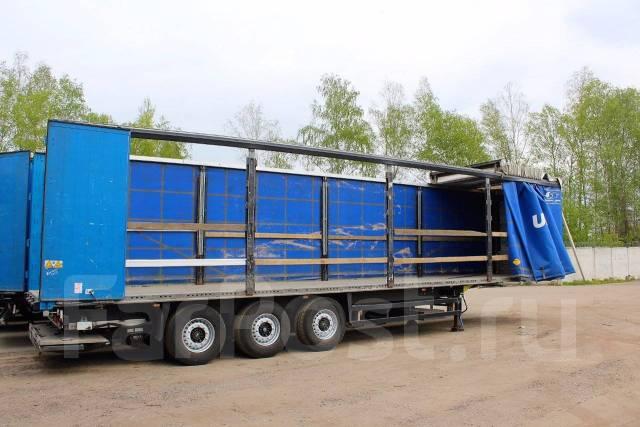 Schmitz. Шторный полуприцеп - 2011 год выпуска. Без пробега по РФ, 39 000 кг.