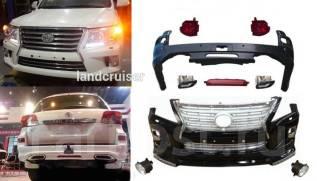 Обвес кузова аэродинамический. Toyota Land Cruiser, GRJ200, J200, URJ200, UZJ200, UZJ200W, VDJ200 Lexus LX570, URJ201, URJ201W Двигатель 3URFE. Под за...