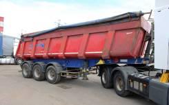 Schmitz Cargobull. Самосвальный полуприцеп Ski24s8/2, 25 400 кг.
