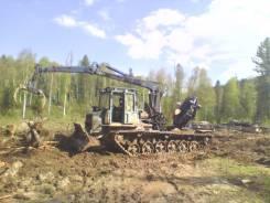 АТЗ ТТ-4. Продается трелевочный трактор МЛ-107 с фискарем и ножем, 14 000 куб. см., 15 000 кг., 21 000,00кг.