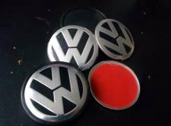 """Наклейки VW ступичных заглушек дисков. Диаметр 6"""", 1 шт."""