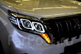 Фара. Toyota Land Cruiser Prado, GRJ150L, GDJ150L, KDJ150L, TRJ150, GRJ150W, TRJ150W, GDJ150W, GRJ150, GDJ151W, TRJ12, GRJ151W Двигатели: 1GRFE, 1GDFT...