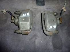 Суппорт тормозной. Toyota Corolla Spacio, AE111N, AE111 Двигатель 4AFE