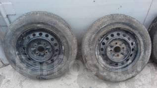 Пара колёс на штамповке. 5.0x13 5x100.00 ЦО 42,0мм.