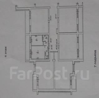 1-комнатная, улица Марины Расковой. Железнодорожный, агентство, 32 кв.м.