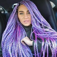 Цветные волосы в ассортименте