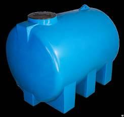Ёмкость горизонтальная бак бочка 3000 литров Г3000 под воду жидкости