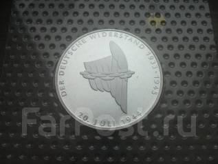 Германия 10 марок 1994 год 20 ИЮЛЯ 1944 серебро, пруф