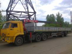 Камаз 6460. Продается тягач Камаз с краном, 11 760 куб. см., 3 000 кг.