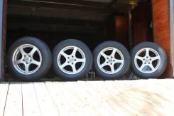 Продам комплект летних колес 205/65 R16, диски 5x114.30 ET40. 7.0x16 5x114.30 ET40 ЦО 72,0мм.