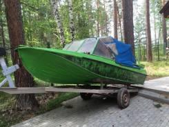 Казанка-5М2. Год: 1984 год, длина 4,60м., двигатель подвесной, 60,00л.с., бензин