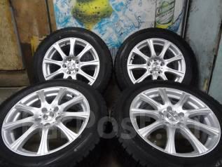 Продам Отличные Стильные колёса WEDS Joker+Зима Жир 215/60R17. 7.0x17 5x114.30 ET48