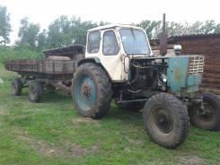 ЮМЗ 6Л. Продаю трактор ЮМЗ-6 с телегой и плугом., 4 940 куб. см.