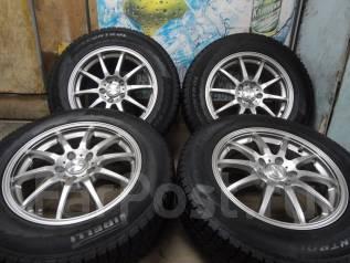 Продам Отличные Стильные колёса Stranger+Зима Жир 225/65R17Toyota, NISS. 7.0x17 5x114.30 ET40