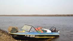 Крым. Год: 1991 год, длина 4,20м., двигатель подвесной, 40,00л.с., бензин