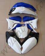 Комплект пластика Polisport YZ450F 10-13 OEM 2013 Бело-черно-синий 90530