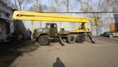 ЗИЛ 131. Автовышка ВС-22, 6 000 куб. см., 22 м.