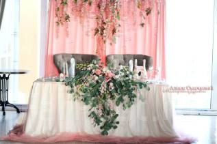 Оформление и декор свадьбы, банкетного зала, выездной регистрации. Под заказ