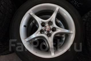 205/55R16 Летние шины с дисками Toyota. Без пробега по РФ. 6.5x16 5x100.00 ET39 ЦО 54,1мм.