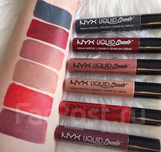 Жидкая матовая помада NYX Liquid Suede Cream Lipstick - Косметика во ... d8ba480482f8b