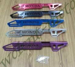 Защита цепи на маятник хром ( серый ) Honda