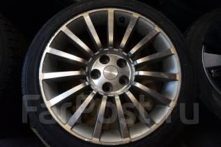 225/45R18 Летние шины с дисками Nissan Autech. Без пробега по РФ. 8.0x18 5x114.30 ET30 ЦО 66,1мм.