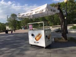 """Продажа готового бизнеса """"телега для хот-догов"""" во Владивостоке"""