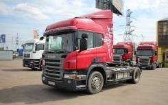 Scania. Тягач P340, 11 700 куб. см., 18 000 кг.