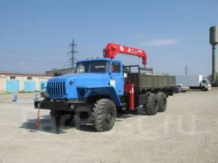 Урал. бортовой с КМУ, 11 150 куб. см., 12 000 кг. Под заказ
