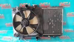 Радиатор охлаждения двигателя. Toyota Sera, EXY10 Toyota Starlet, NP80, EP85, EP95, EP82, EP81, EP80, EP91, EP90 Двигатели: 5EFHE, 2EE, 4EFE, 2E, 1E...