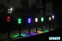 Светильники на солнечных батареях. Под заказ
