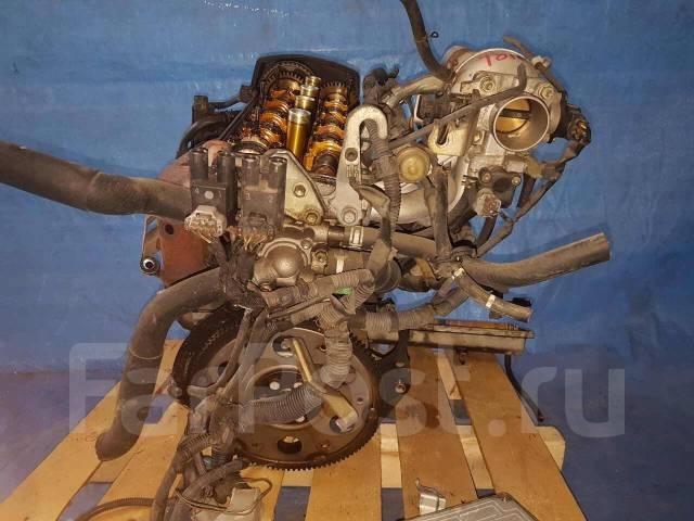 Двигатель в сборе. Toyota: Sprinter, Corsa, Caldina, Sera, Corolla II, Paseo, Corolla, Tercel, Raum, Cynos Двигатели: 5EFE, 5EFHE