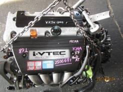 Двигатель в сборе. Honda Accord, CL7, CL9, CL8, CL3, CM3, CL2, CM2, CL1, CM1 Двигатель K24A