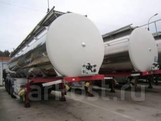 Menci. Полуприцеп-цистерна пищевая SA105 2006г. 3 камеры11000/4000/1500, 30 000 кг.