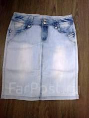 Юбки джинсовые. 50