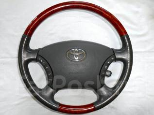 Руль. Toyota: Alphard, Camry, Land Cruiser Prado, 4Runner, Hilux, Avensis Verso, Estima, Land Cruiser, Hilux / 4Runner, Estima Hybrid, Alphard Hybrid...